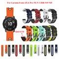 JKER быстросъемный ремешок для часов Ремешок для Garmin Fenix 6X Pro часы Easyfit наручный ремешок для Fenix 6 Pro для Garmin Fenix 5X5 часы