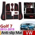 Противоскользящий коврик для ворот резиновая подставка для VW Golf 7 MK7 2013 2014 2015 2016 2017 2018 2019 Volkswagen аксессуары наклейки для автомобиля