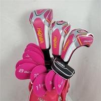 HONMA s-06 4 star golf club women\'s golf club set driver + fairway + golf iron + putter graphite shaft free shipping
