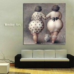Image 3 - Nude Ölgemälde handgemachte Nackte Frau Malerei Home Dekoration bild Auf Leinwand Moderne Wand malerei für hotel restaurant geschenk