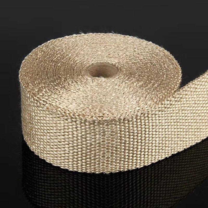 10 m de vento de escape thermo wrap escudo protetor de pele cinto de proteção para o jogo de tela rollo Silenciadores    -