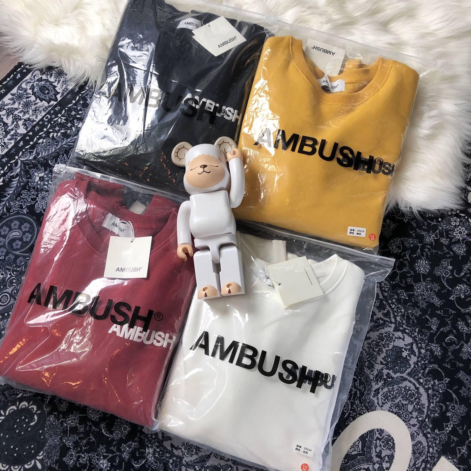 19ss Ambush Hoodies Men Women 3D Print Streetwear Hip Hop Ambush Sweatshirts Kanye West Skateboard  Ambush Pullover