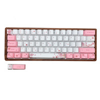 1 set 60% layout mechanical keyboard keycap for MX switches PBT dye sublimation Sakura Penguin key caps for GH60 GK61 Anne|Keyboards| |  -
