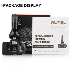 Image 5 - AUTEL TPMS Sensor 433Mhz Ladaptation TS501 TS508 Programmable Véhicule Voiture Accessoires Capteur de autopartes