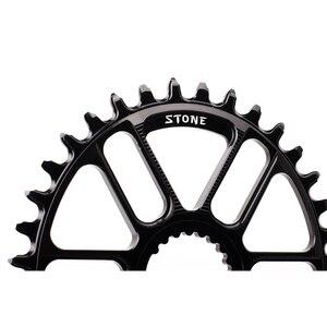 Image 2 - Plato ovalado para bicicleta de piedra, soporte directo para M9100, M8100, M7100, refuerzo de Dientes anchos estrecho, 30T 40T, 12 velocidades