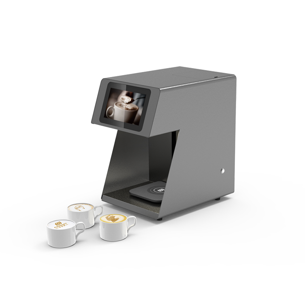 Automatische Kaffee Drucker Selfie Kaffee Drucker 3D Druck Maschine Für Kaffee Bier Saft Kuchen Latte Mit Wi-Fi