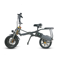 Fashionable lightweight 14 inch folding mobility scooter