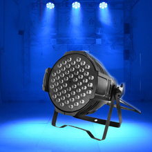 54w par light RGBW led flat 54 disco lighting DJ can club LED bar ktv show xmas decorative