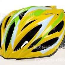 Недорогой искусственный один-кусок Горный Дорожный шлем для езды на мотоцикле, с кепкой, карнизы производители собственное OEM