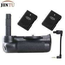 Jintu titular aperto da bateria profissional para nikon d5600 d5500 dslr câmera com + 2x EN-EL14 baterias de recarga kit