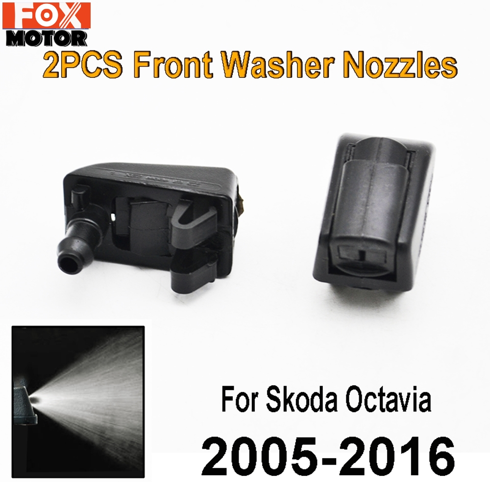XUKEY 2Pcs//set Front Windscreen Washer Jet Nozzles Kit For Patriot Compass 2008 2009 2010 2011 2012 2013 2014 2015 2016