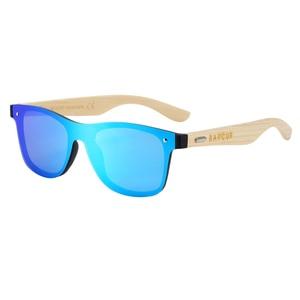 Image 4 - BARCUR Wood Glasses Bamboo Sunglasses Eyewear Accessories Female/Male Sunglasses Rimless for Men Glasses