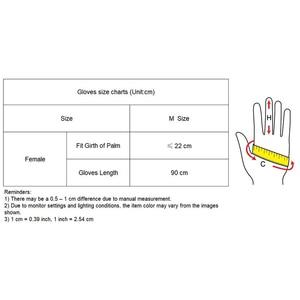 "Image 5 - LATEX LANGE HANDSCHUHE Faux Patent Leder 35 ""90cm XL Große Puff Ärmeln Unisex Gold Frauen Lange Leder Handschuhe 2020 NEUE WPU209"