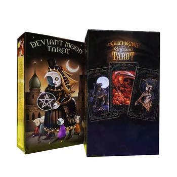 Deviant Moon Alchemy 1977, английское Таро, волшебное Таро, английское издание, настольная игра, загадочное Таро, семейные вечерние карты, игра