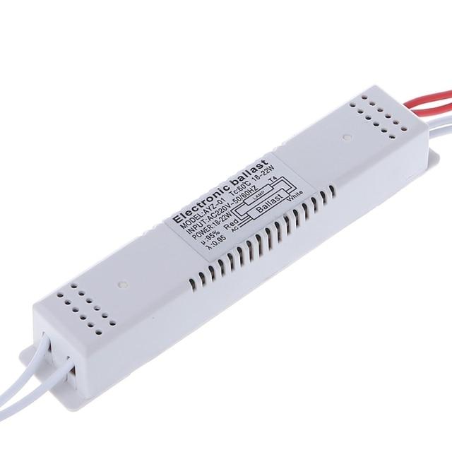 электронный балласт для флуоресцентных ламп 18 22 вт 220 в переменного фотография