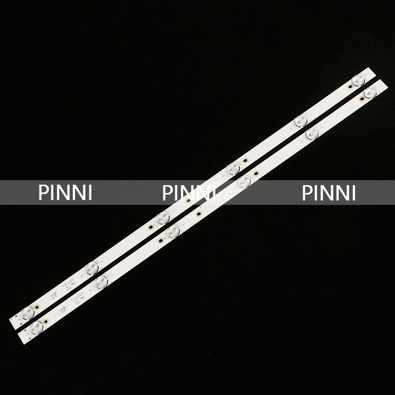 580mm LED Backlight strip 6 lamps For Tv JL D32061330-081AS-M FZD-03 E348124 HM 32v input MS-L1343 L2202 L1074
