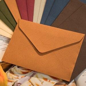 Image 3 - 50pcs/pack C6 Retreo Window Envelopes Envelopes Wedding Party Invitation Envelope Greeting Cards Gift Envelopes