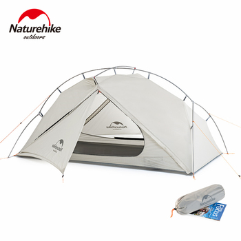 Naturehike VIK Tent 1 2 Person Ultralight Tent Portable Hiking Outdoor Tent Airy Fishing Tent Waterproof Camping Tent outdoor waterproof hiking camping tent anti uv portable tourist tent ultralight folding tent pop up automatic open sun shade