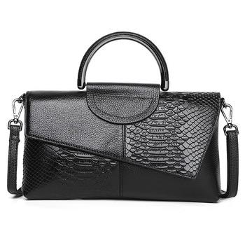 Women's Black European American Style Handbag
