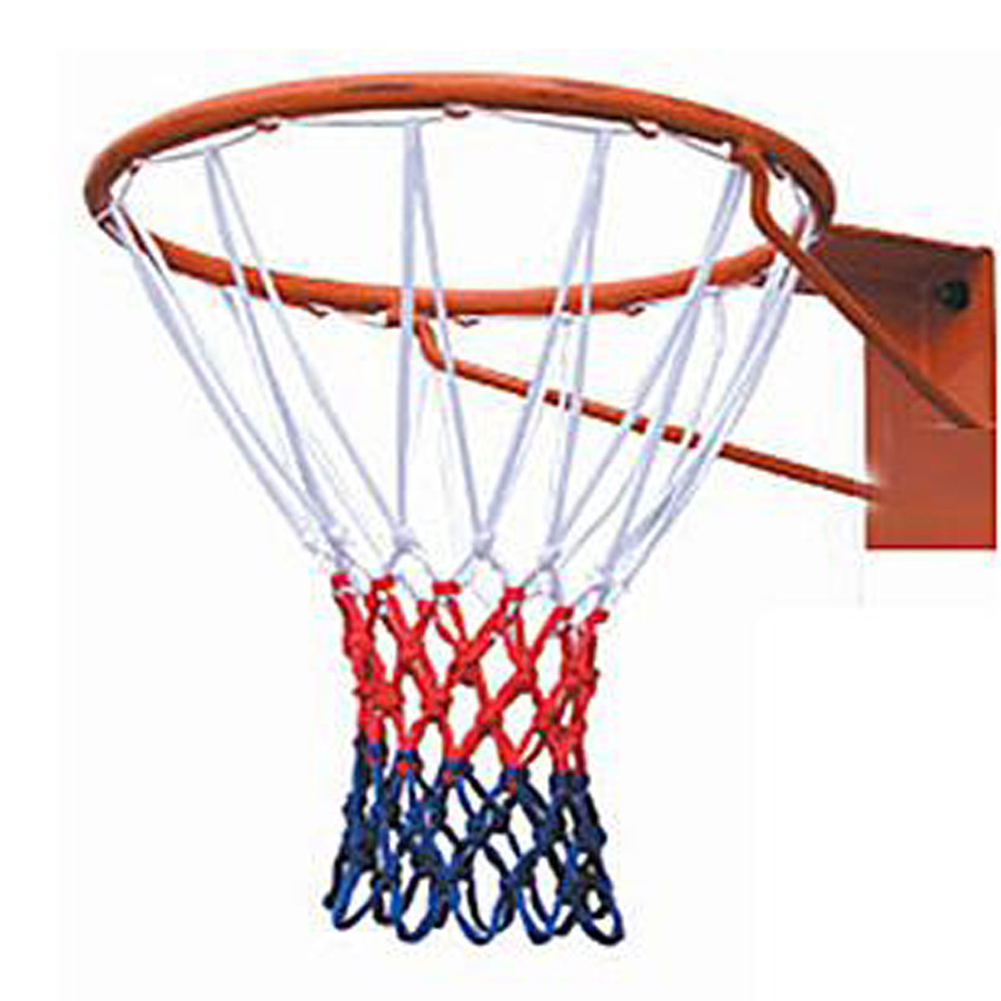 1Pcs Basketball Rim Mesh Net Non-whip Basketball Net 13 Loops Basketball Net Mesh For Basketball Ring 50cm