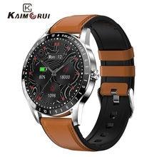 Smart Watch, Smartwatch Woman Men Heart Rate Monitor, IP68 Waterproof Alarm Clock Screen Smart Watch For IOS Android (Black)