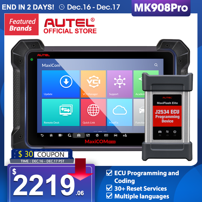 Autel MK908P Car Diagnostic Scanner MaxiSys J2534 Programmer ECU Coding PK Maxisys Elite MS906BT IM608 MaxiCOM MK908 PRO OBD1 /2|maxisys pro ms908p|maxisys proautel maxisys - AliExpress