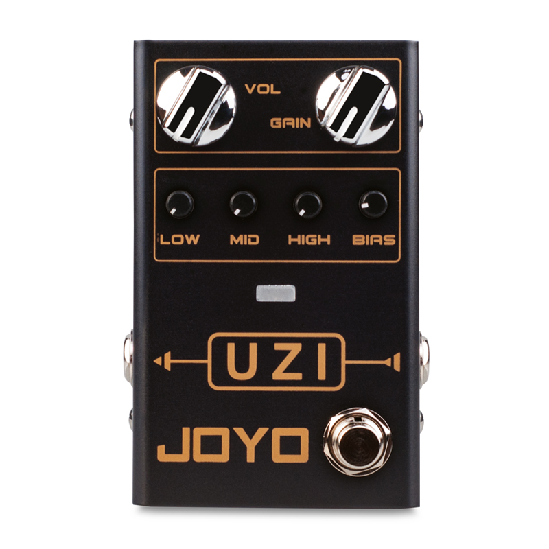 JOYO R-03 UZI Guitar Distortion Pedal Electric Guitar Pedals Effect for Heavy Metal Music True Bypass Guitar Parts Accessories