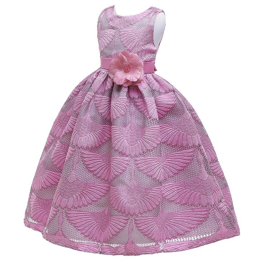 Маленькие платья для девочек, держащих букет невесты на свадьбе; платье для торжеств; платье для девочек, расшитое бисером, на день рождения; платье для первого причастия; бальное платье с длинными рукавами и лепестками
