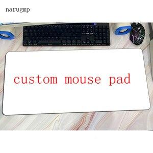 Коврик для мыши на заказ, геймерский коврик для мыши с закрытыми краями, резиновый Настольный коврик с массовым рисунком, высококачественны...