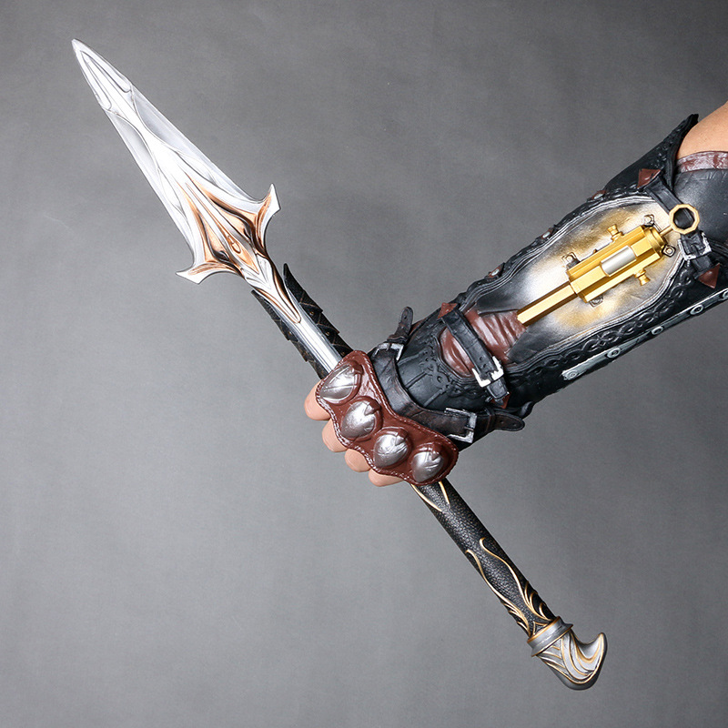 Cosplay Assassin S Creed Onidas Spear Action Figure Assassin S