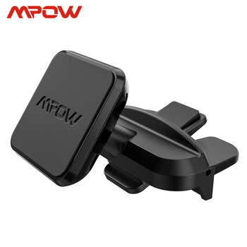 Mpow CA098 Universal Magnetic Phone Car Mount CD Slot Car Phone Holder Stand For Car One-Step Installation 360 Degree Rotatable
