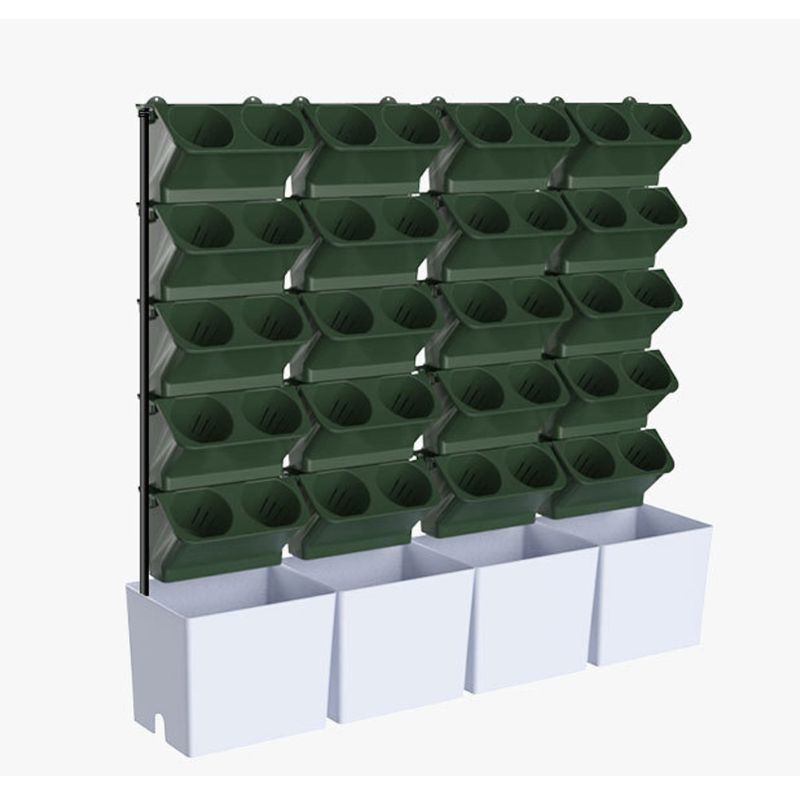 Stapelbaar Bloempot Muur Opknoping Verticale Planter Vetplanten Bonsai Vaas Tuin Home Decoratie