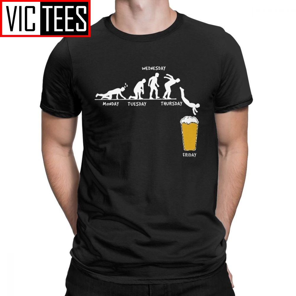 Men Week Craft Beer T Shirts 100 Premium Cotton Sweatshirt Funny Humor Graphic  Round Collar Tees Free Shipping T-Shirt