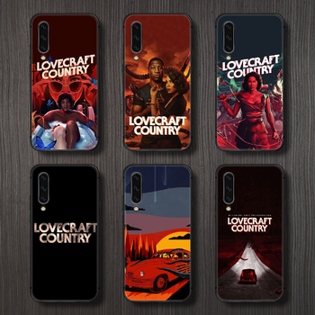 horror movie lovecraft country Phone Case Cover For Samsung Galaxy A10 A20 A30 E A40 A50 A51 A70 A71 J 5 6 7 8 S black hoesjes image