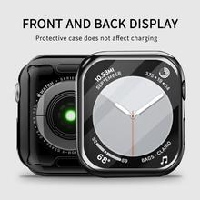 Watch-Cover Screen-Protector Case Series 42MM 360 Slim for Apple 6-se/5/4/.. 38MM Soft-Clear