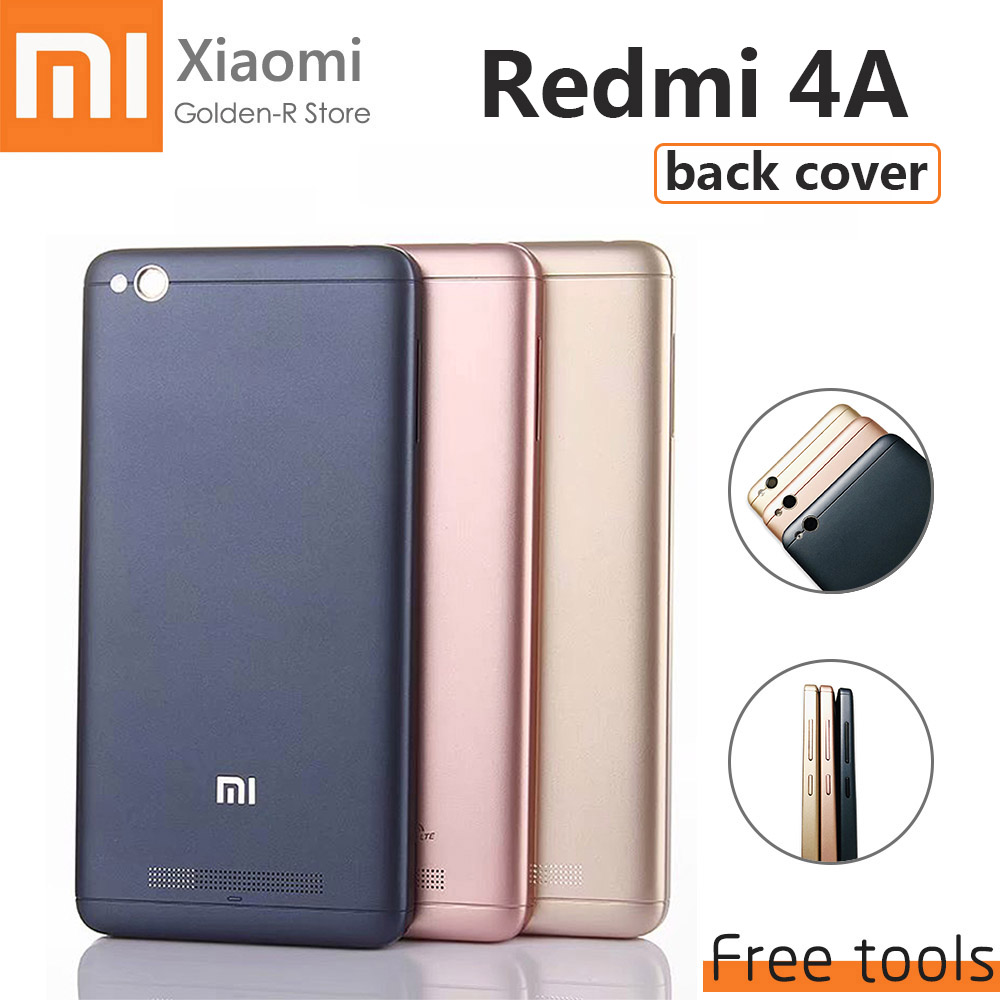 OEM For Xiaomi Redmi 4A Battery Cover Rear Door Back Housing Case For Xiaomi Redmi 4A Back Battery Cover Replacement