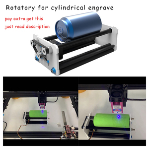 Image 3 - 6550 20w laser gravur maschine PMW control TTL cnc 15w laser carving maschine 5500mw Laser, 1,6 w Laser Maschine, 65*50 arbeit Bereich