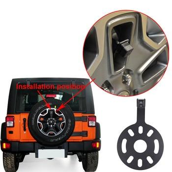 Car Backup Reverse Rear View Camera Waterproof Spare Tire Mount Reversing Parking for Jeep Wrangler PKW-Reservereifen 2007-2019
