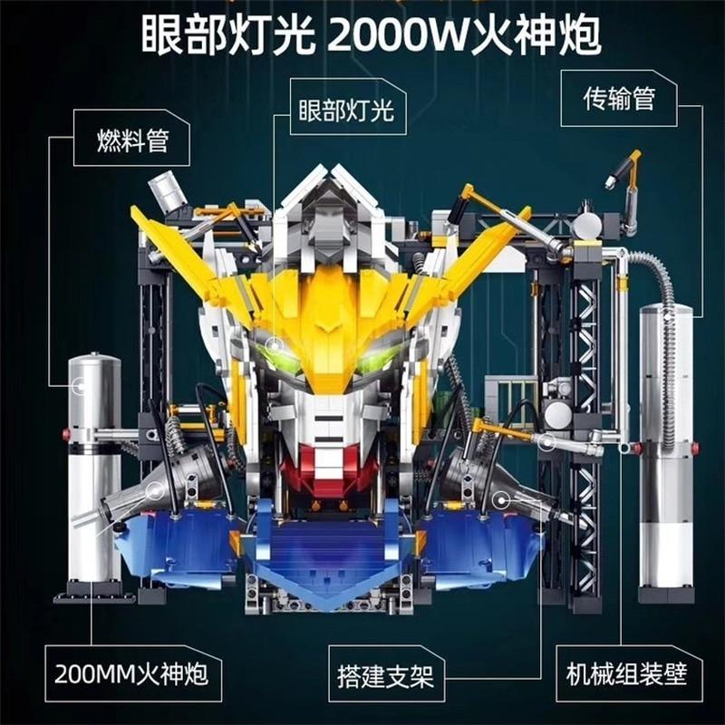 K86 Movie series Gundam Robot MOC Mobile Building Blocks Bricks Kids Toys