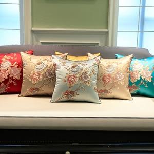 Funda de cojín decorativo para sofá, funda de almohada de lujo, funda de cojín con flores, funda de cojín 45*45