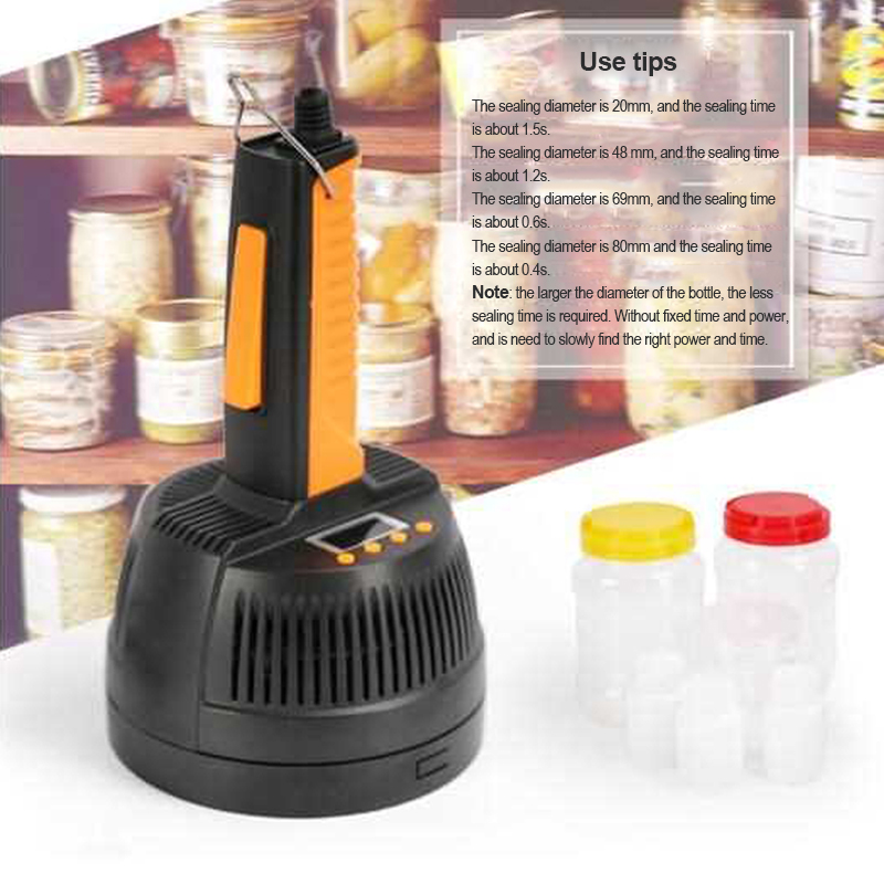 Hand-held Electromagnetic Induction Sealing Machine DL-800A Plastic Bottle Cap Sealer 20-100mm aluminium foil capper 220v 1pc