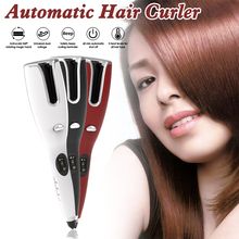 Hair-Curler Iron Dry-Hair Ceramic Automatic Ionic Wet Auto-Rotating-Tangle-Protection