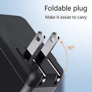 Image 4 - USB C Wand Ladegerät, EKSPRAD 36W 2 Port Typ C Ladegerät mit 18W Power Lieferung mit Faltbare Stecker Für iPhone 11 Pro schnelle Ladung