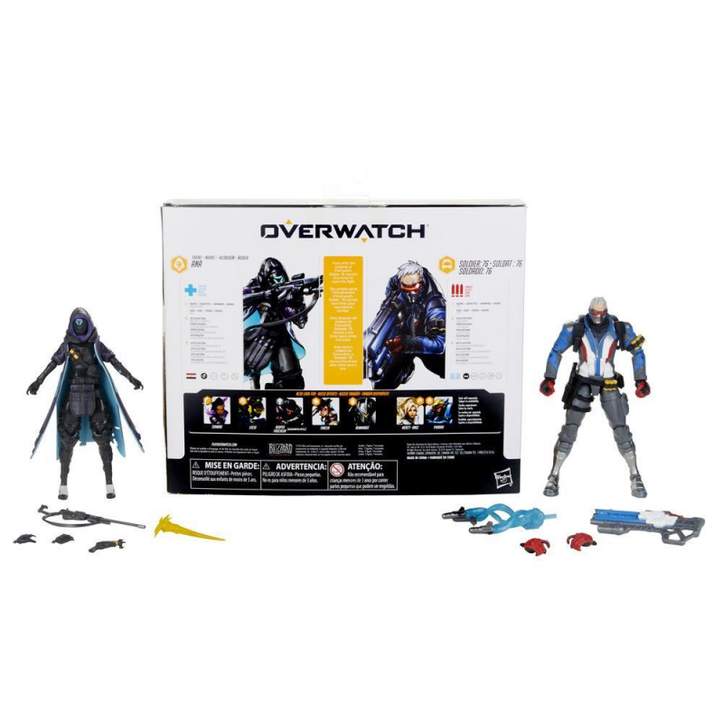 15cm Hasbro Overwatch Ana Amari Anime characters Action PVC Collection Model Toy Anime Figure Toys For Kids 1
