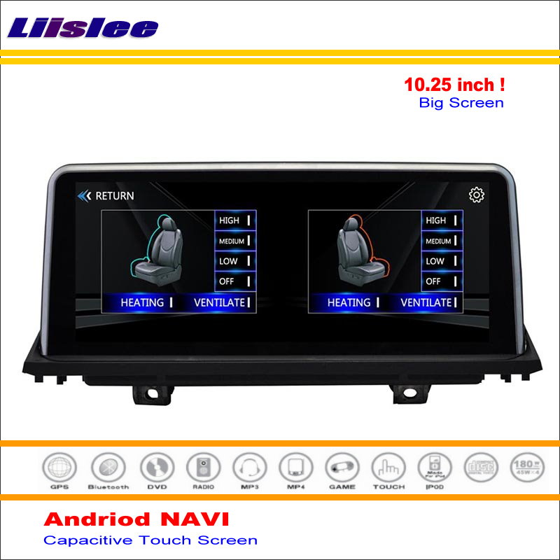 Car Android GPS Navigation System For <font><b>BMW</b></font> <font><b>X5</b></font> <font><b>E70</b></font> E71 2007~2011 2012 2013 2014 Radio Stereo Audio Video Multimedia HD Screen image