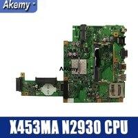 Amazoon X453MA placa base N2930 CPU para For Asus X453MA X403M F453M placa base de computadora portátil X453MA placa base X453MA placa base