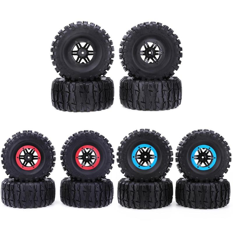4pcs 2.2inch Rubber Axe Torch Tread Tire Inflator Pump for 1/10 RC Car Part Auto Tyre Accessories Vehicle Wheel Protector Hot