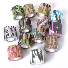 Muscle Pain Relief Elastic Bandage Camouflage Medical Glue Gym Kinesiology Tape Spandex Spo