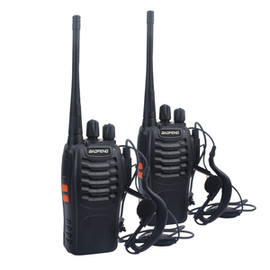 Free shipping 2pcs/lot baofeng walkie takie BF-888S UHF 400-470MHz ham amateur radio baofeng 888s VOX radio with Earpiece