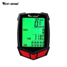 WEST BIKING Cycling Bike Bicycle Computer For Bike Cycling Computer Wireless Waterproof Speedometer Bicycle Goods Accessories bryton rider 530 gps cycling computer enabled bicycle bike computer and bryton mount waterproof wireless speedometer